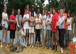 Global Youth Institute work project, Des Moines, Iowa, USA