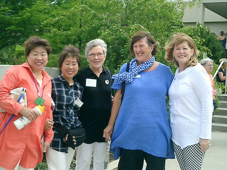 2017 Japan English Language Learners Inbound Journey in May at the Botanical Center