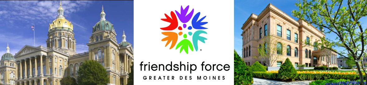 Friendship Force Greater Des Moines Logo