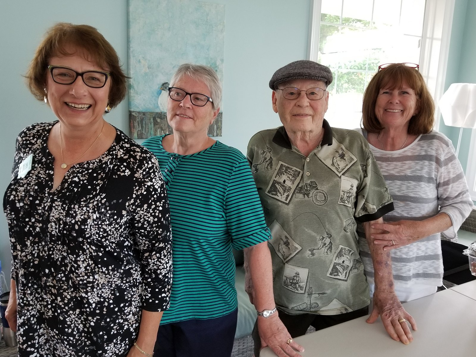 2018 Outbound Journey to FF Central Virginia - June 13-18 - Linda, Pat & the Birdsals