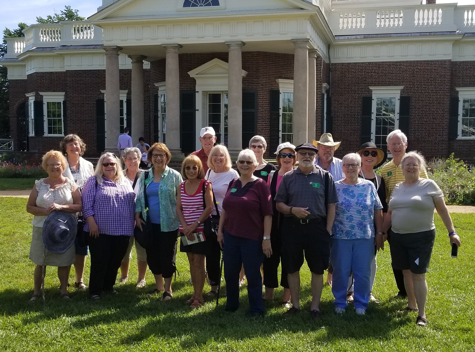 2018 Outbound Journey to FF Central Virginia - June 13-18 - Monticello