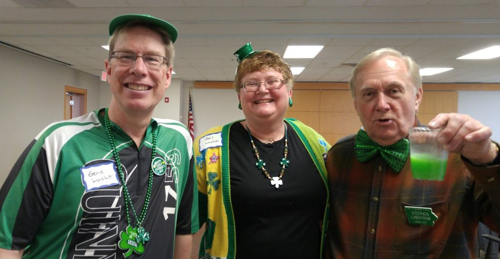 2019 - Irish Celebration - Luchts & Steve - March 17