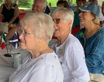 All Iowa FF Picnic in Cedar Rapids - July 13, 2019 - Janette, Jean Thomas & Adrienne