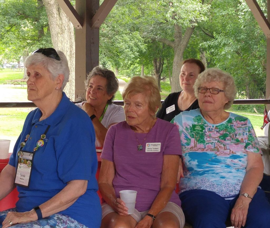All Iowa FF Picnic in Cedar Rapids - July 13, 2019 - Lenne & Carol