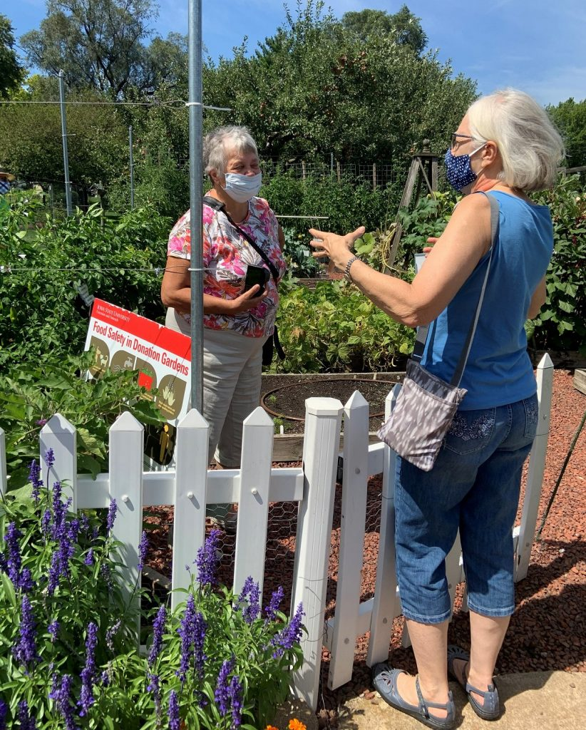 2020 August Gathering at Mary Marshall's home and the Demonstration Garden