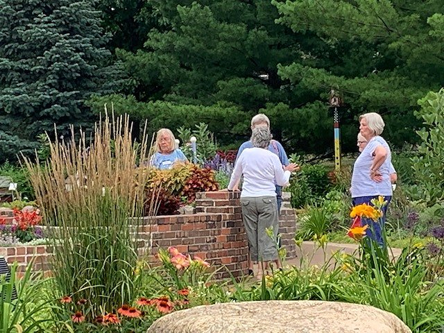 2020 July – Social at The Enabling Garden in July