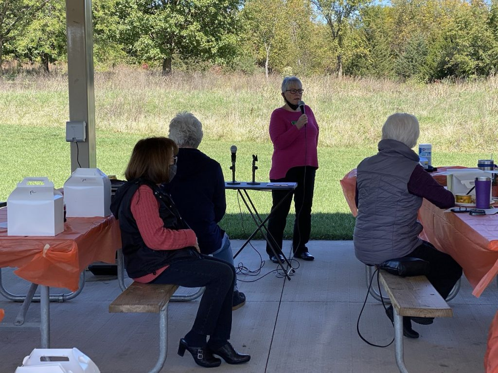 2020 Annual Meeting & Lunch at Fort Des Moines Park in October